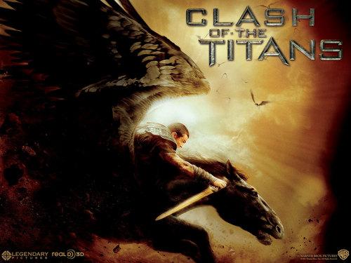 Sam in Clash of The Titans wolpeyper