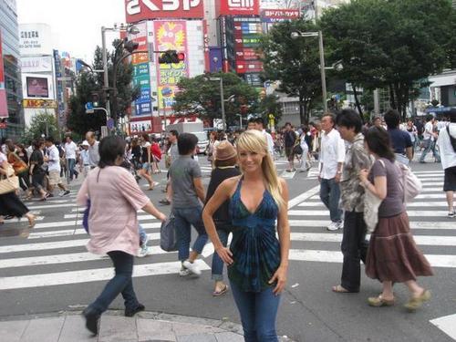Sara in Giappone