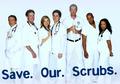 Save Our Scrubs!
