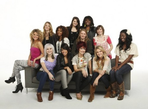 Season 9 - parte superior, arriba 12 Girls - Photoshoot