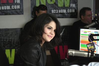 Selena At 92.3 NOW Studios