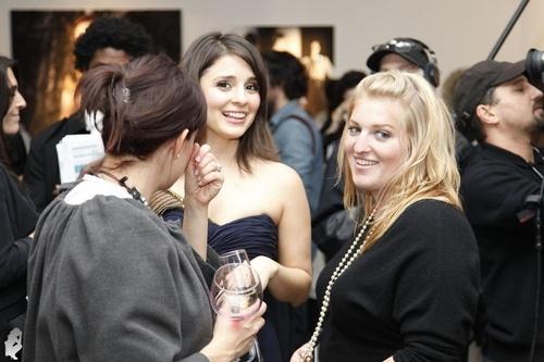 Shiri at Temperley London's Presentation