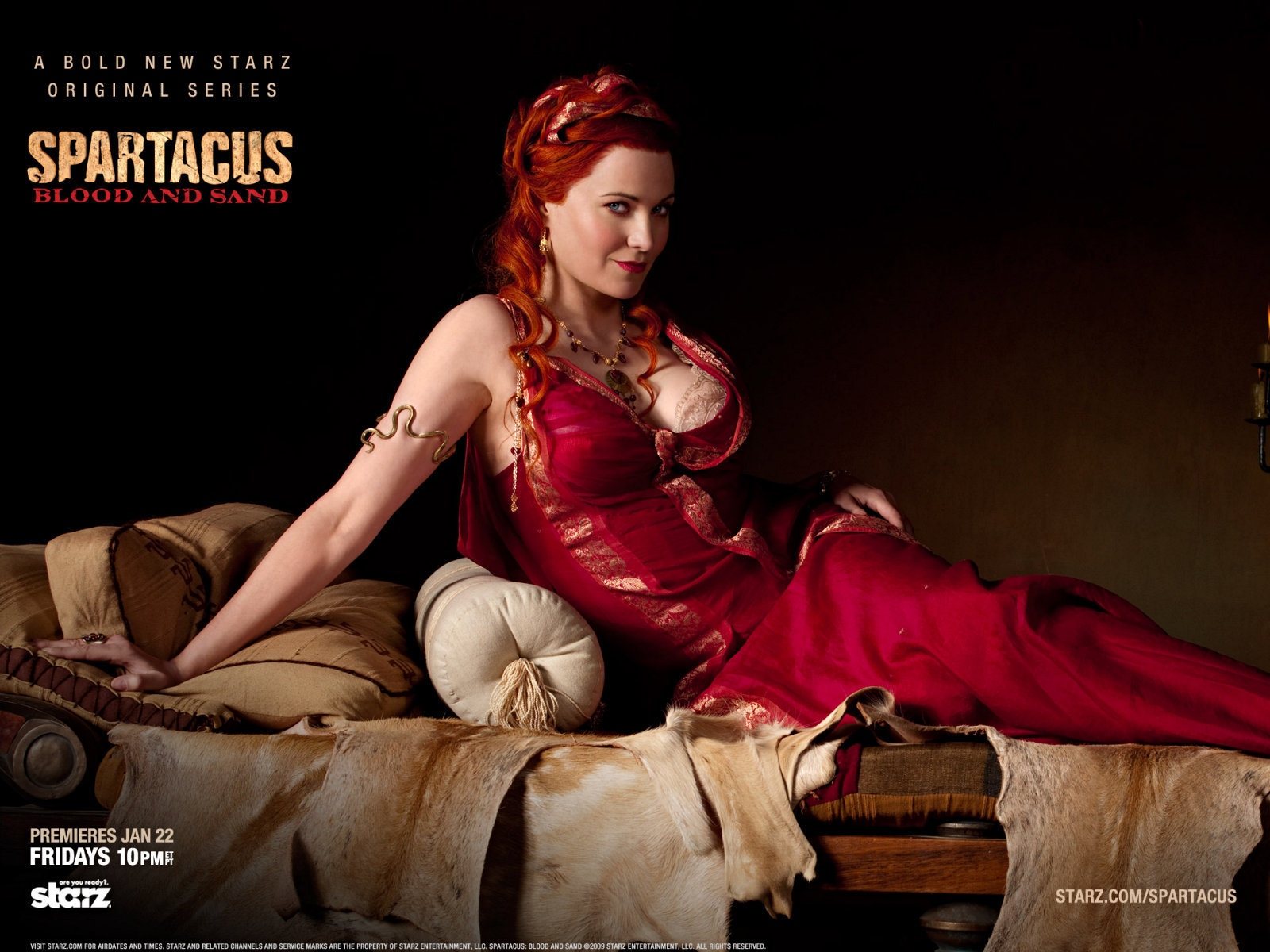 Lucy Lawless Spartacus: Blood & Sand