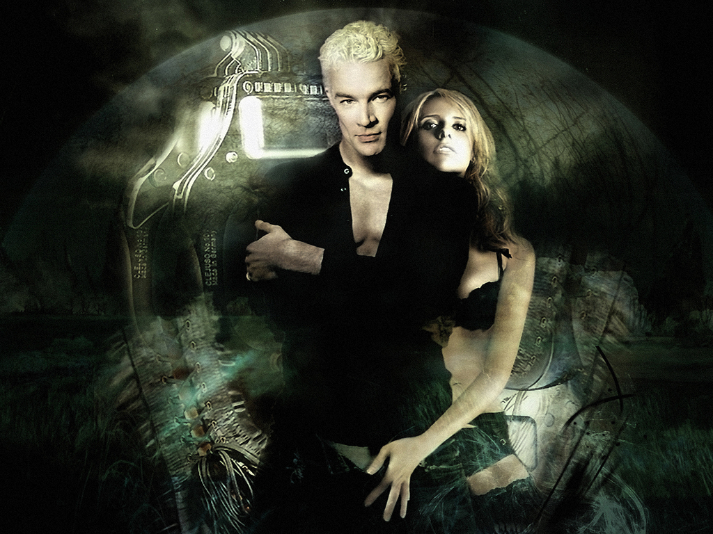 spuffy images spike and buffy hd wallpaper and background