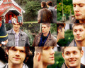 Supernatural Christmas - the-salvatores-vs-the-winchesters photo