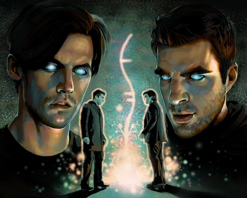 Sylar And Peter Future Drawing