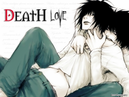 death note wallpaper titled THE l / LOS l