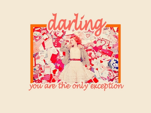 'The Only Exception' 바탕화면