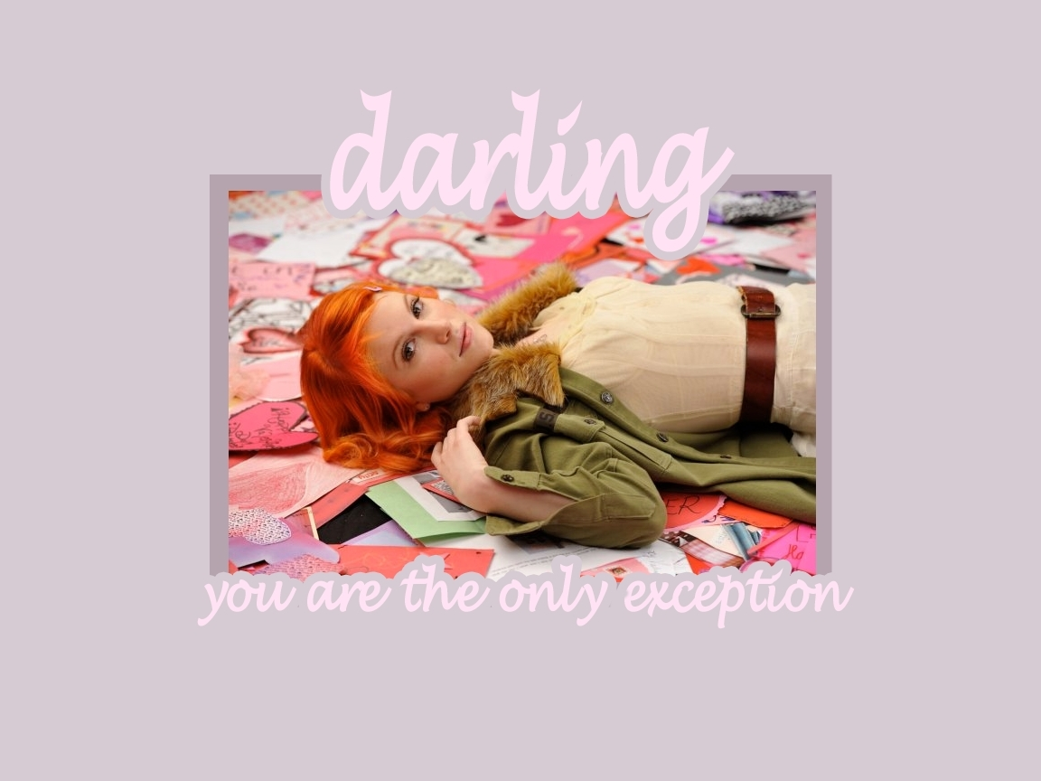 'The Only Exception' वॉलपेपर