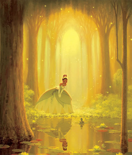The Princess and the Frog wallpaper titled The Princess and the Frog