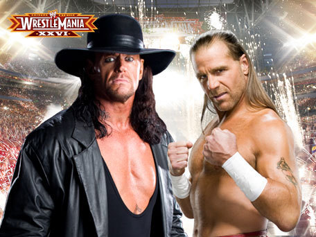 The Undertaker vs Shawn Michaels-Wrestlemania 26