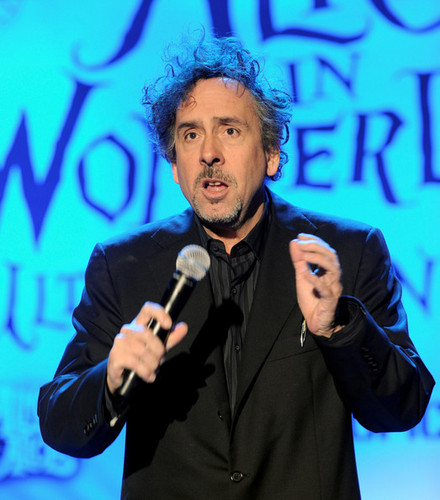 Tim Burton @ the Walt Disney Pictures & Buena Vista Records 'Alice In Wonderland' Fan Event - tim-burton Photo