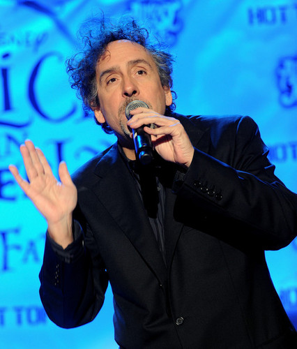 Tim burton @ the Walt Disney Pictures & Buena Vista Records 'Alice In Wonderland' fan Event