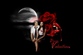 Bloody Valentine  - damon-and-bonnie fan art