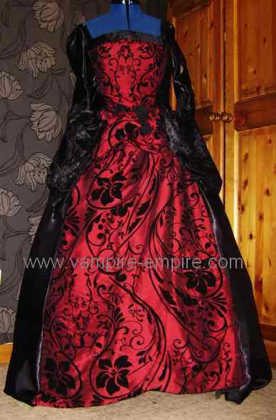 Handmade Victorian Steampunk and Gothic Wedding Dresses Collection from