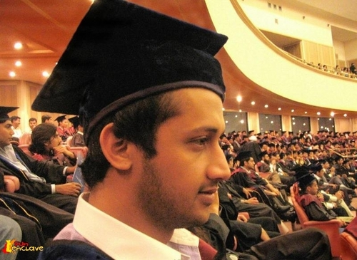 atif got a degree