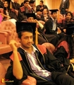 atif got a degree