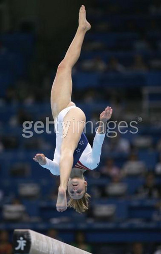 Gymnastics Обои titled carly patterson
