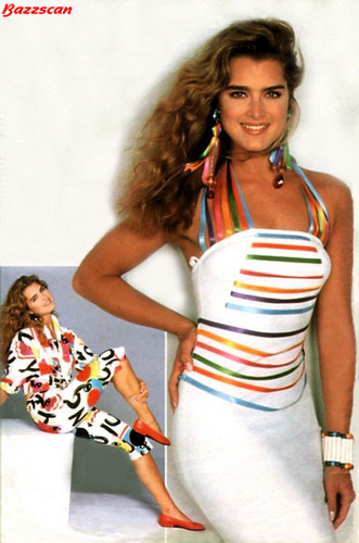 brooke shields fondo de pantalla called colorful