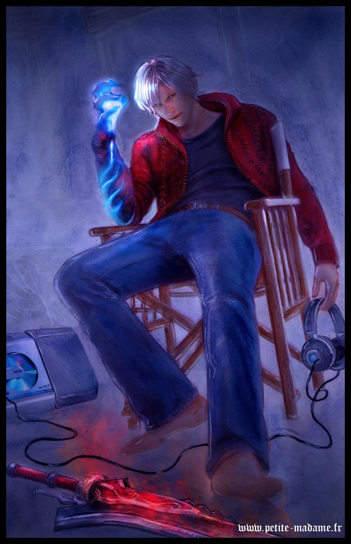 Dante Devil May Cry 4 Fan Art 10531095 Fanpop