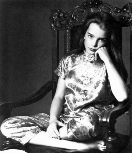 Brooke Shields wallpaper called early photoshoot