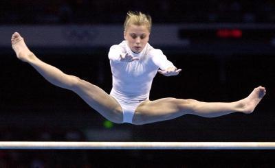 Gymnastics 바탕화면 called elena zamolodchikova