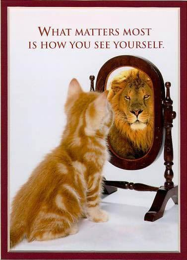 feel good about yourself :)