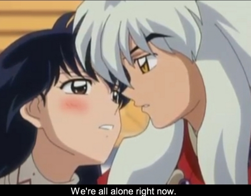 Inuyasha and Kagome wallpaper entitled inuyasha and kagome