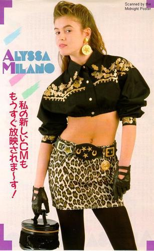 Alyssa Milano wallpaper entitled japanese mag
