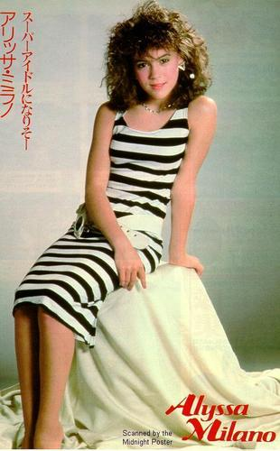 Alyssa Milano wallpaper titled japanese mag