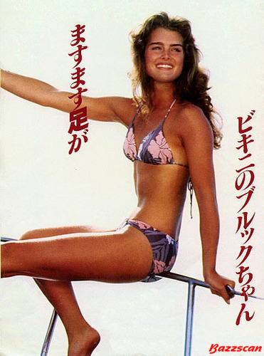 Brooke Shields wallpaper entitled japanese mag