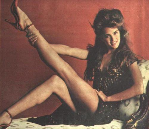 Brooke Shields wallpaper called legs!
