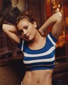 looking good in stripes - alyssa-milano photo