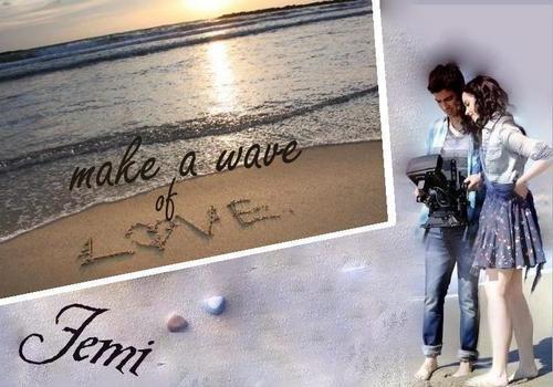 make a wave shabiki art