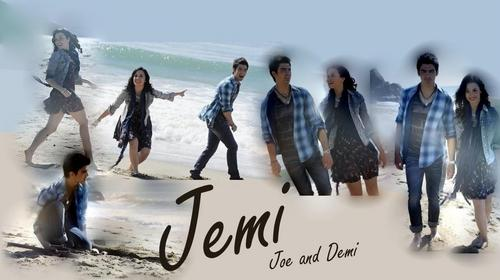 Jemi wallpaper titled make a wave fã art