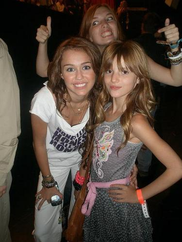 miley w/bella thorne