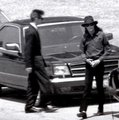 mj at his grandmother's funeral 1990 - michael-jackson photo