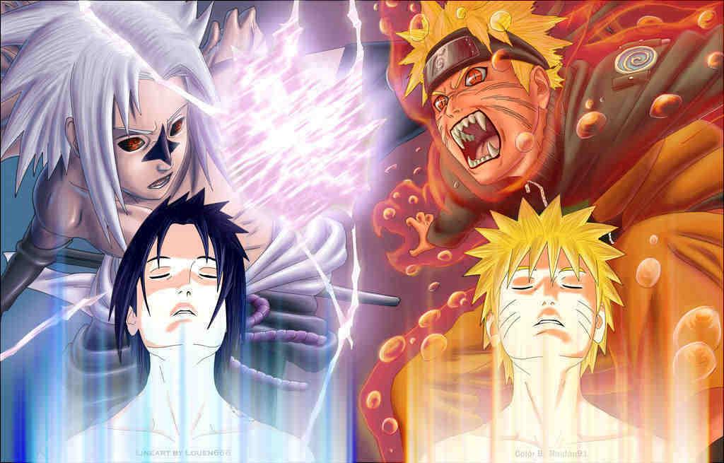 sasuke vs. naruto - Naruto Photo (10530238) - Fanpop