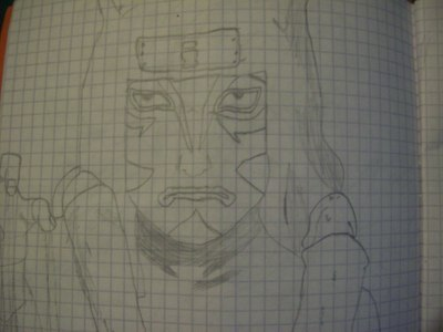 some drawings of mine in a maths book XD