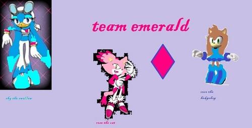 team zamrud, emerald