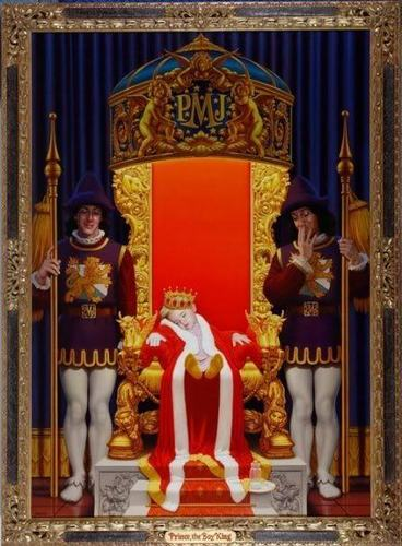 the prince's throne!