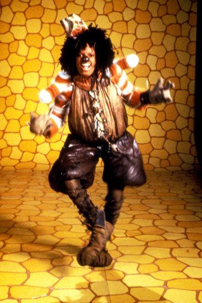 Michael Jackson Wiz Scarecrow