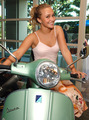 vespa girl - hayden-panettiere photo