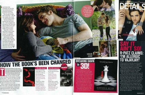 """""""Famous"""" Magazines Strikes Again This Time With Eclipse Scens They Didn't Want bạn To See"""