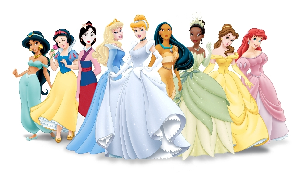 Disney Princess (Formal Mulan) Disney Princess Lineup