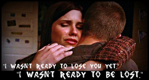 """I wasn't ready to lose you yet"""
