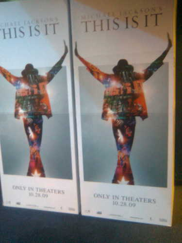 'This Is It' promotion banner in Poland