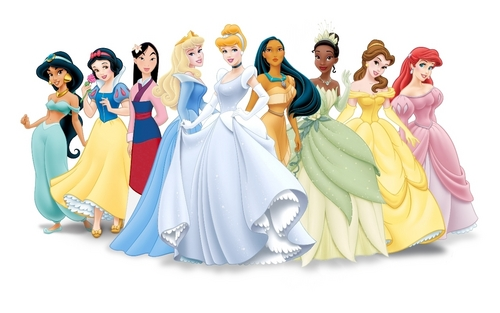 (semi-formal mulan) Disney Princess Lineup