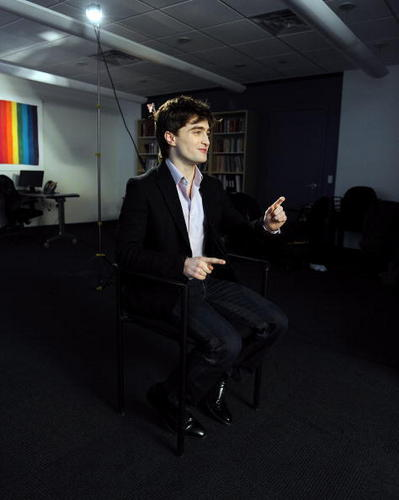 2010 The Trevor Project visit