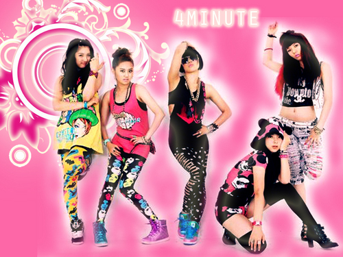4minute shines~~